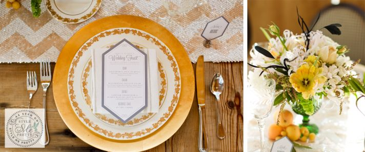 Vintage Wedding Themes Great Gatsby Reception Decor