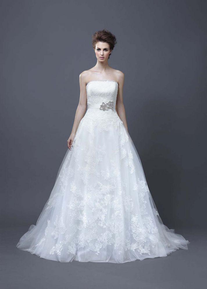 2013 Wedding Dress by Enzoani Bridal Halo