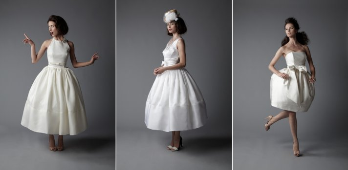 1960s Bridal Style LWD for the Wedding Reception