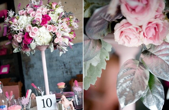 Romantic Wedding Flowers Shades of Pink