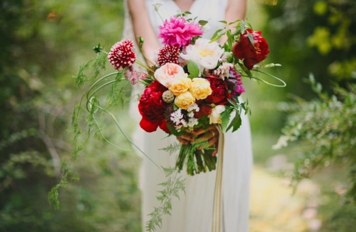 Midsummer Night Bridal Bouquet Romantic Whimsical
