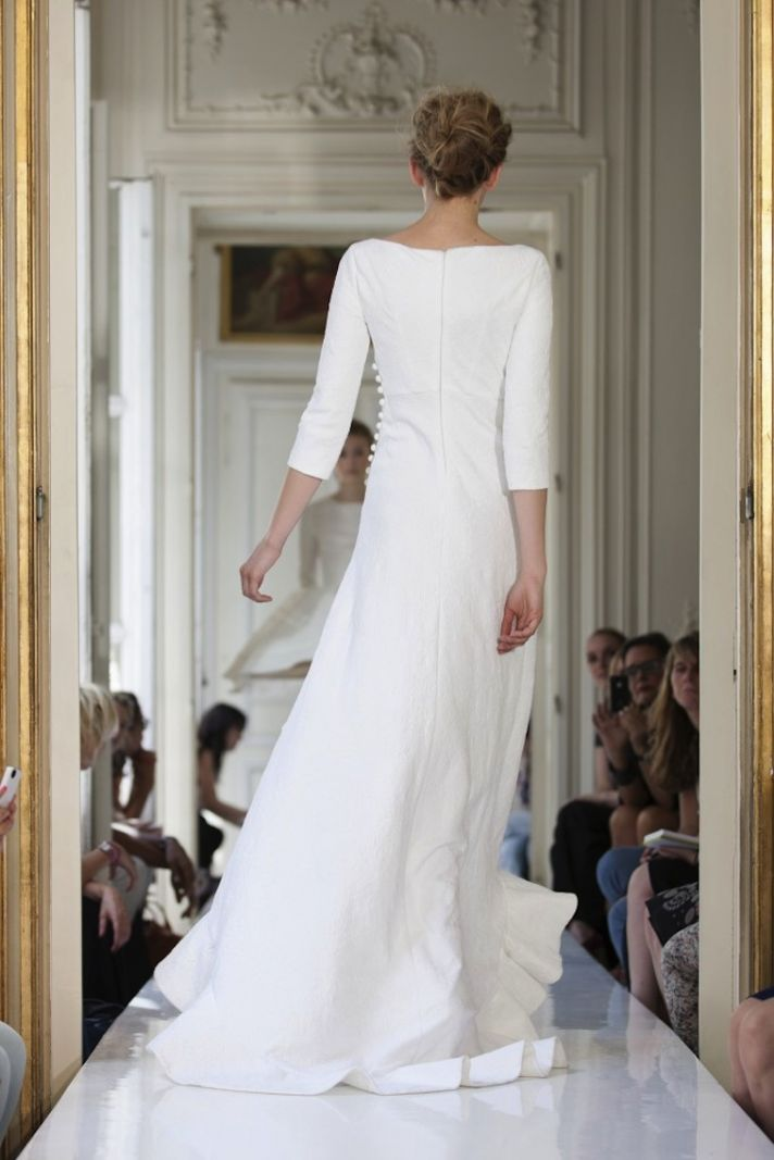2013 Wedding Dress by Delphine Manivet French Bridal Solal
