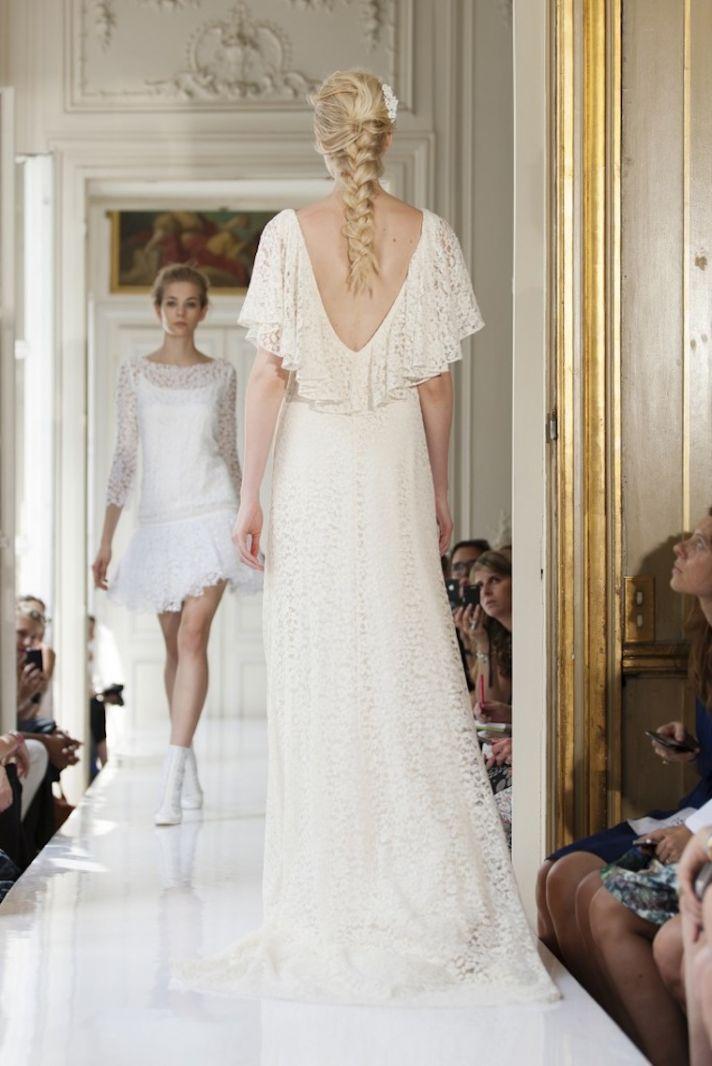 2013 Wedding Dress by Delphine Manivet French Bridal Nestor