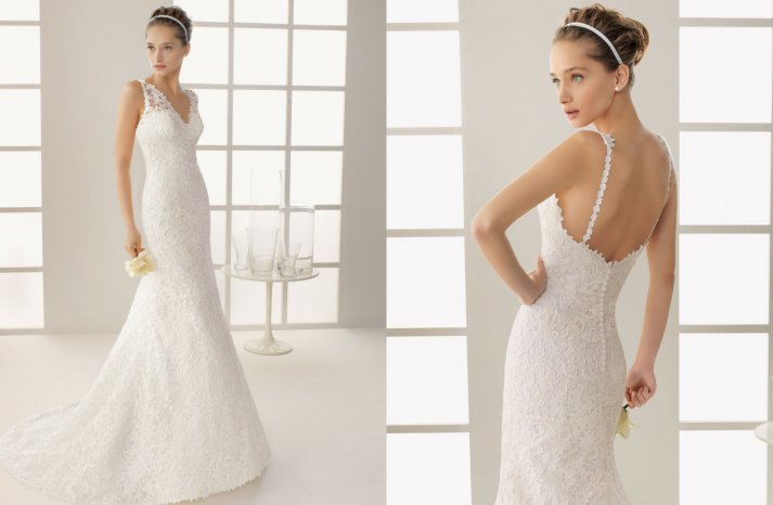 Two by Rosa Clara 2013 Wedding Dress Dakota