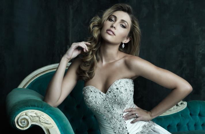 2013 Wedding Dress Allure Couture Bridals C240H