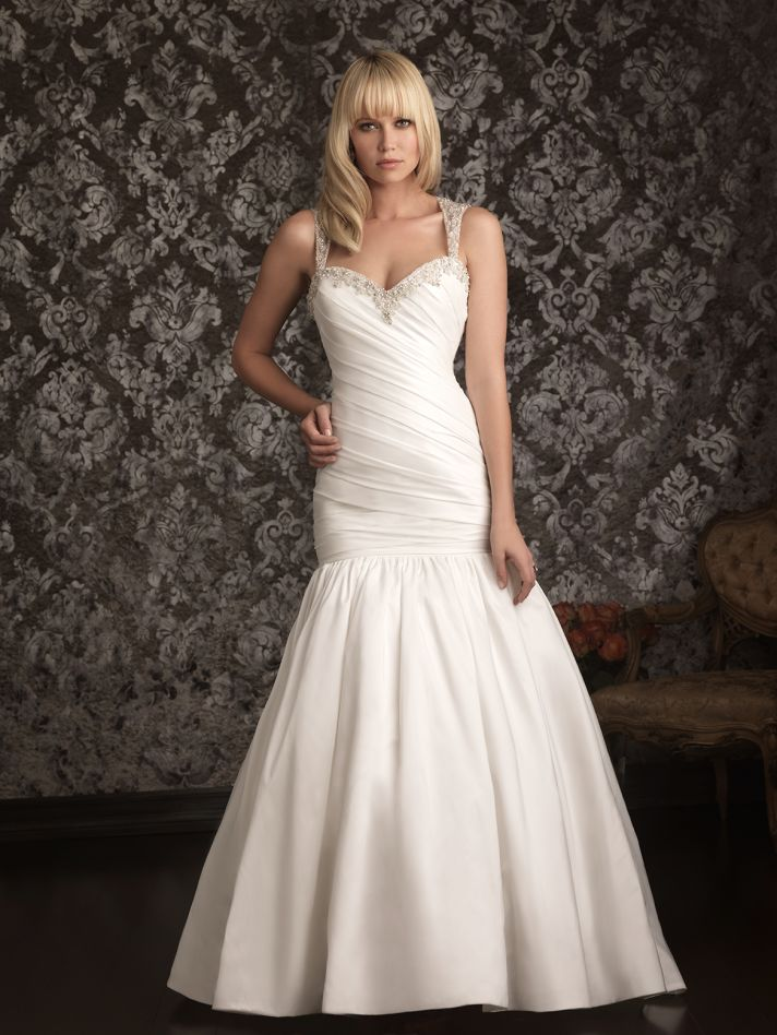 Allure Bridals Wedding Dress Bridal Gown Allure Collection Sweetheart 9020F