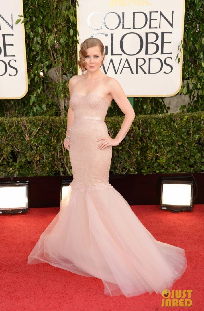 2013 Wedding Dress Inspiration from Golden Globes Amy Adams