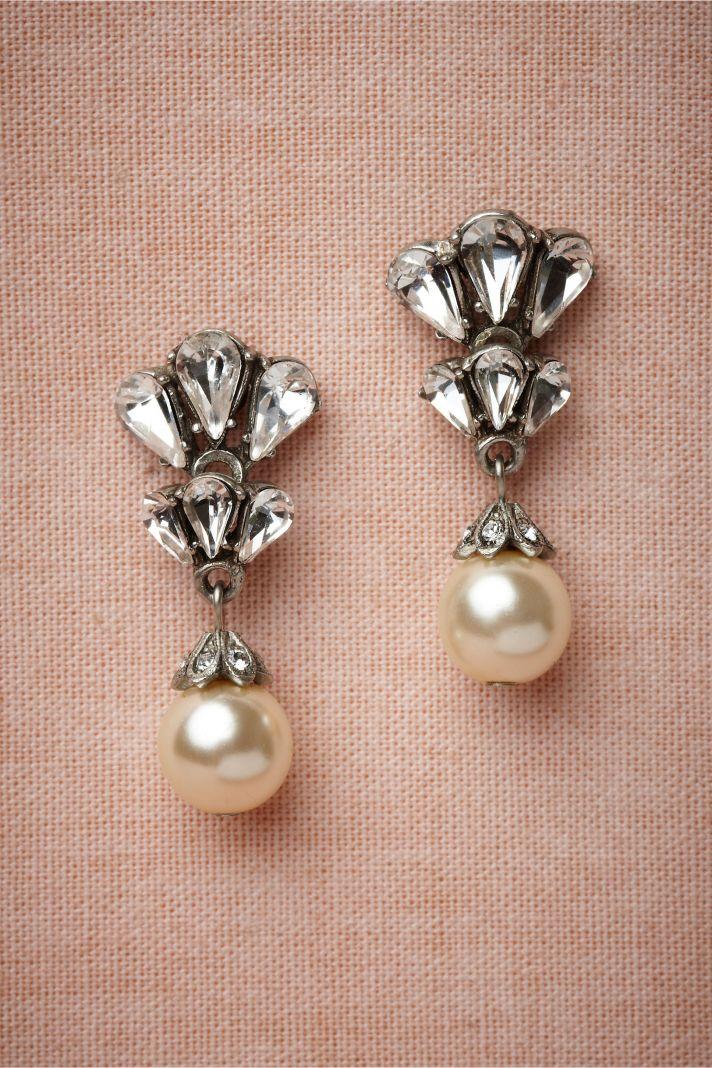 Art Deco Bridal Earrings