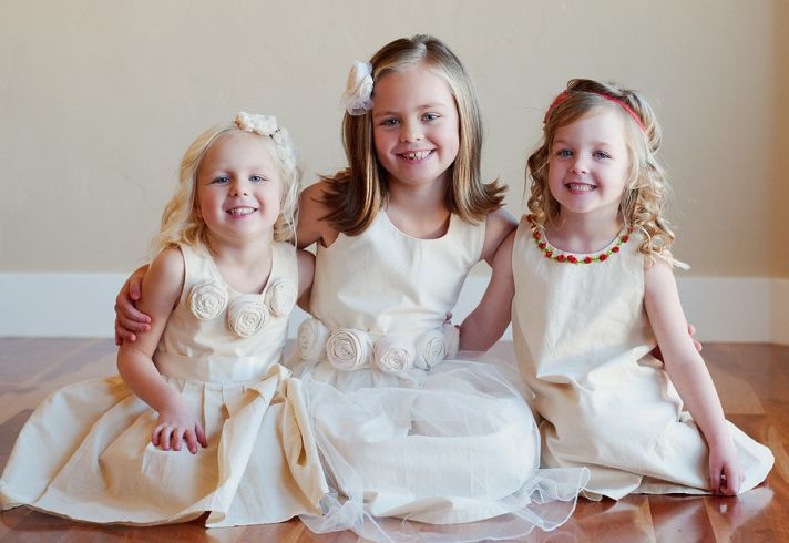 Cute Flower Girl Dreses