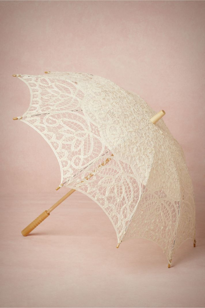 Lace Parasol for Spring Brides
