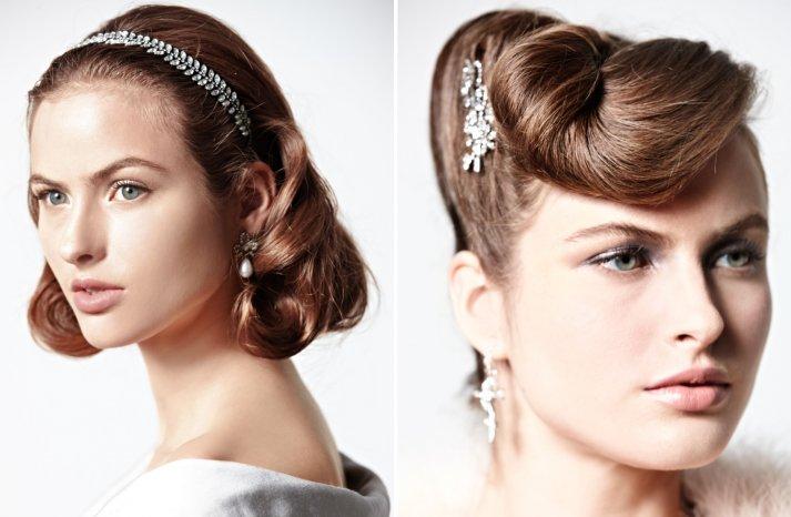 Retro Waves for Vintage Brides