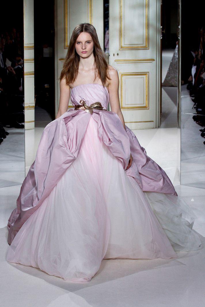 Irridescent Wedding Gown giambattista valli couture spring 2013 24 122424434821