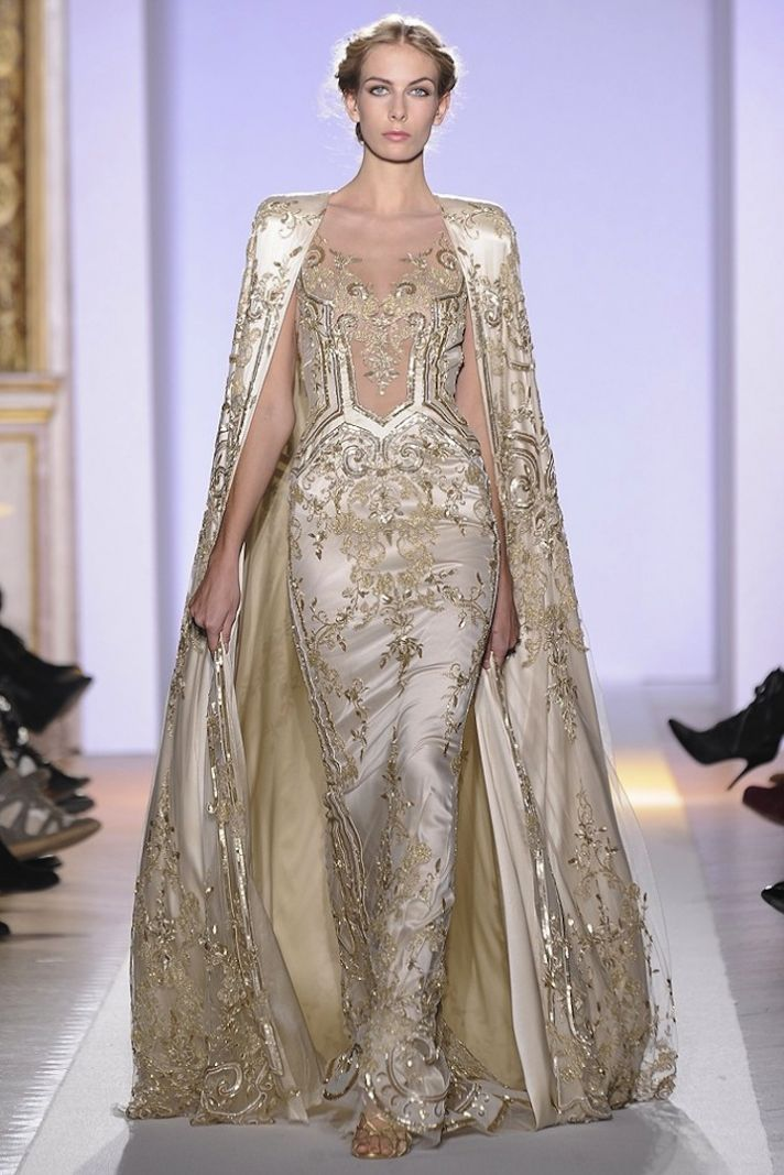 Bridal style inspiration gilded magic by zuhair murad for A s style couture