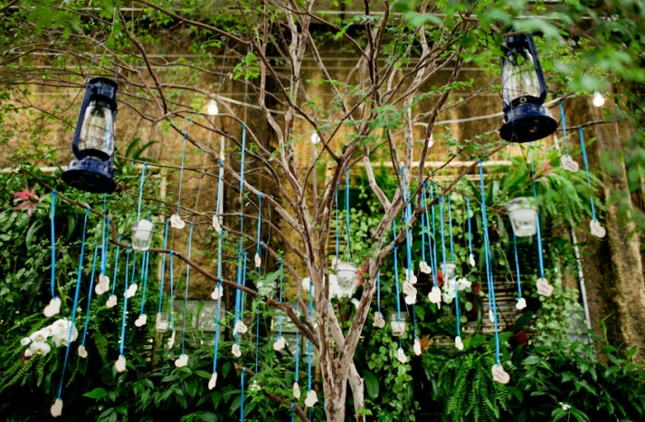 Wedding Wish Tree Heart Shaped Guest Tags