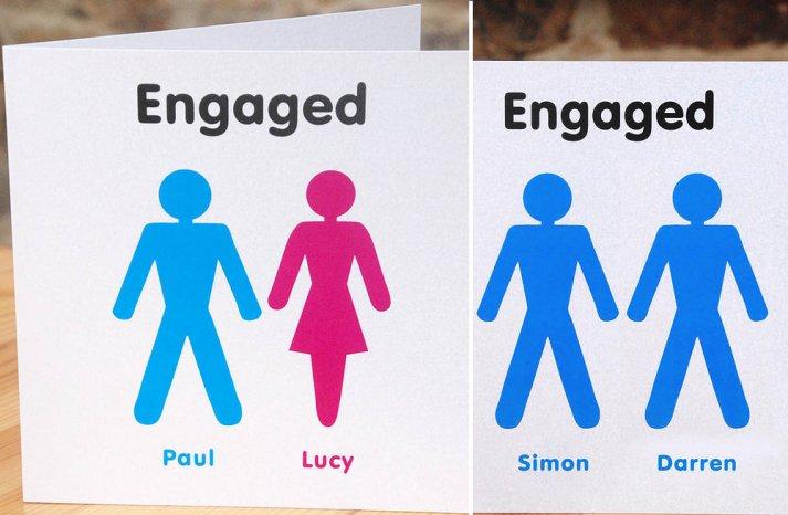 Unique Engagement Announcement Boy Girl