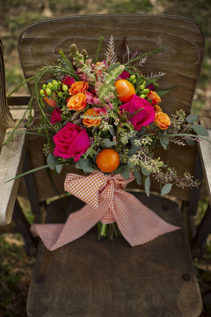 Romantic Bridal Bouquet Rustic Country Chic