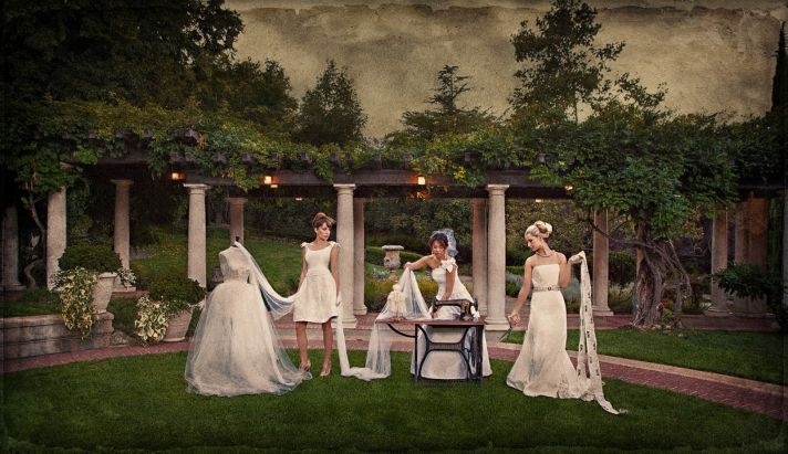 Outdoor Wedding Style Shoot with a Vintage Elegant Twist
