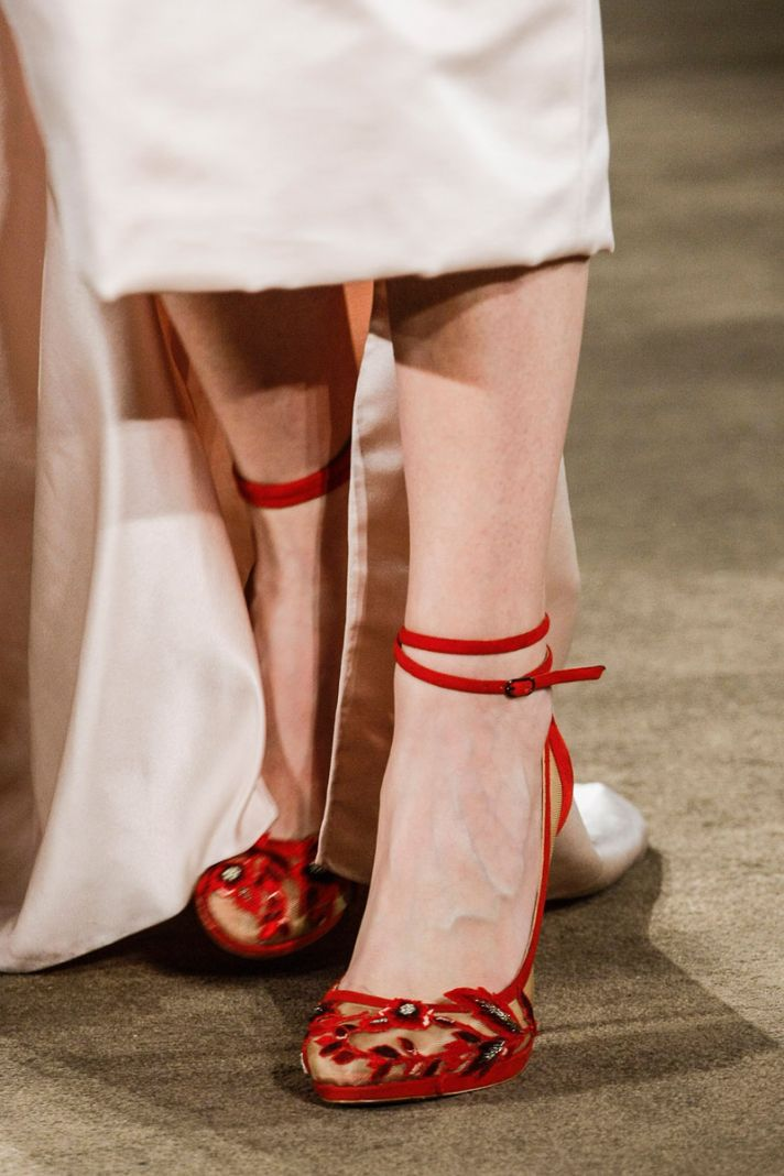 Touches of Sheer Wedding Shoes Trend Marchesa 1
