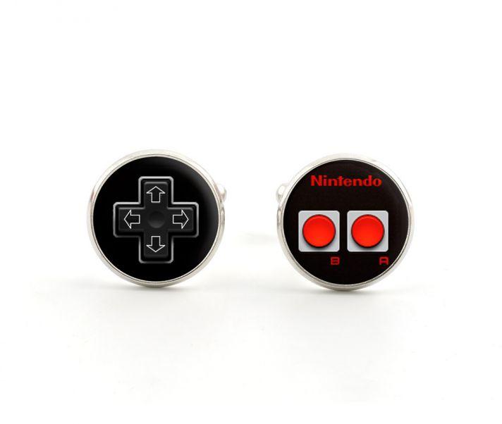 Geeky Groom Accessories Gamer Cuff Links