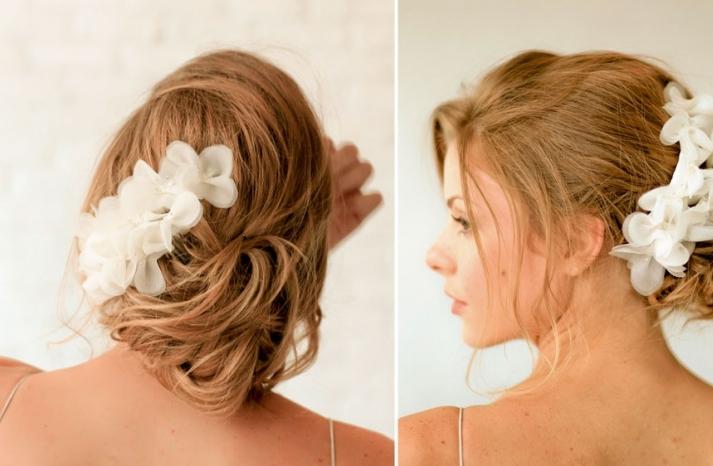 Romantic wedding hair accessories by Alice Padrul 1