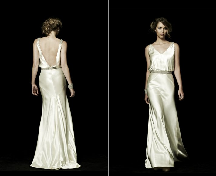 Best of backless wedding gowns 25 dresses to adore for Backless wedding dress bra
