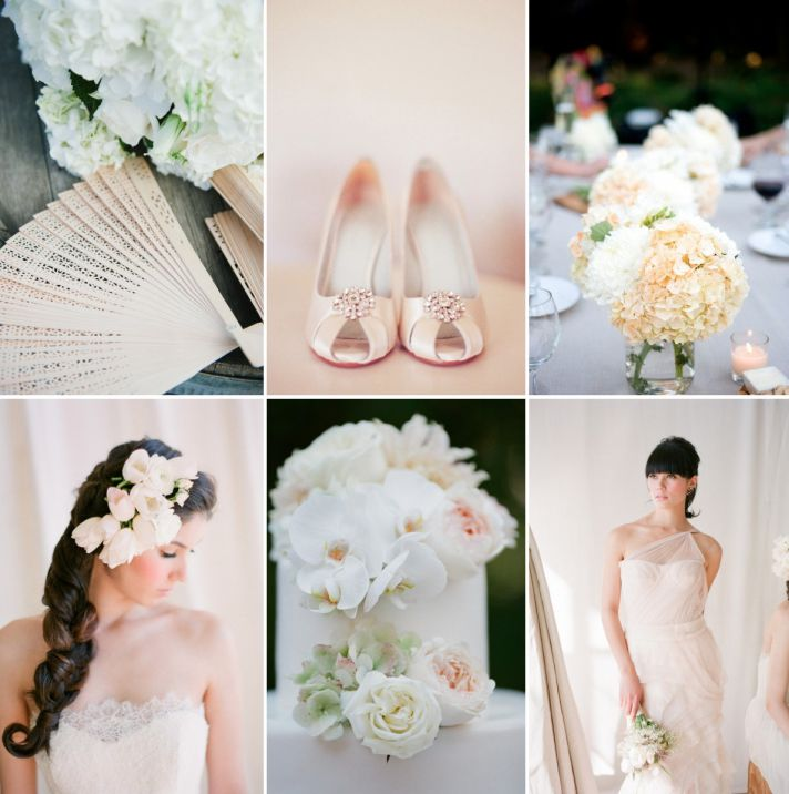 top 2013 wedding trends beautiful neutrals palette inspiration