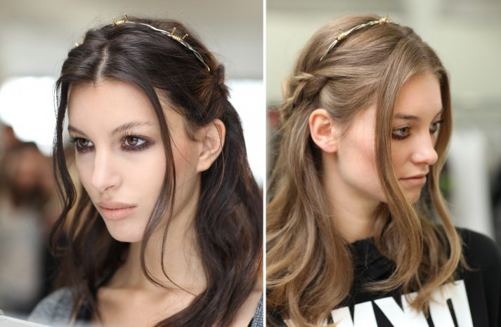 Rodarte Fall 2013 Wedding Hair Makeup Inspiration