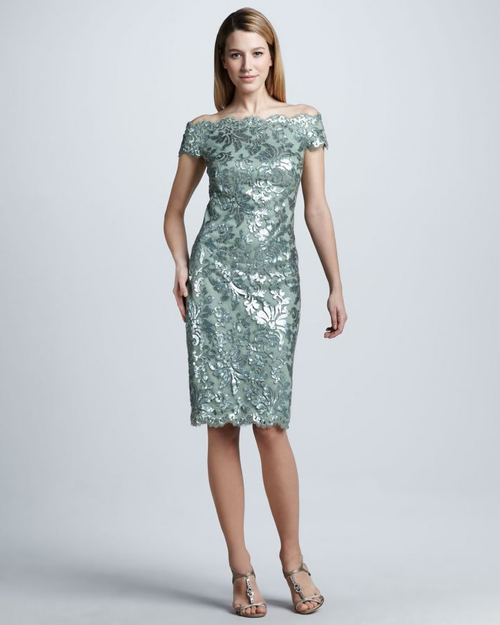Seafoam frock for mothers of the bride