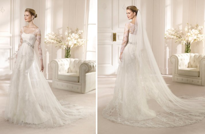 2013 Wedding Dress San Patrick Bridal Costura collection Alemania lace