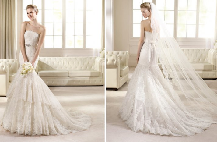 2013 Wedding Dress San Patrick Bridal Costura collection Rivoli