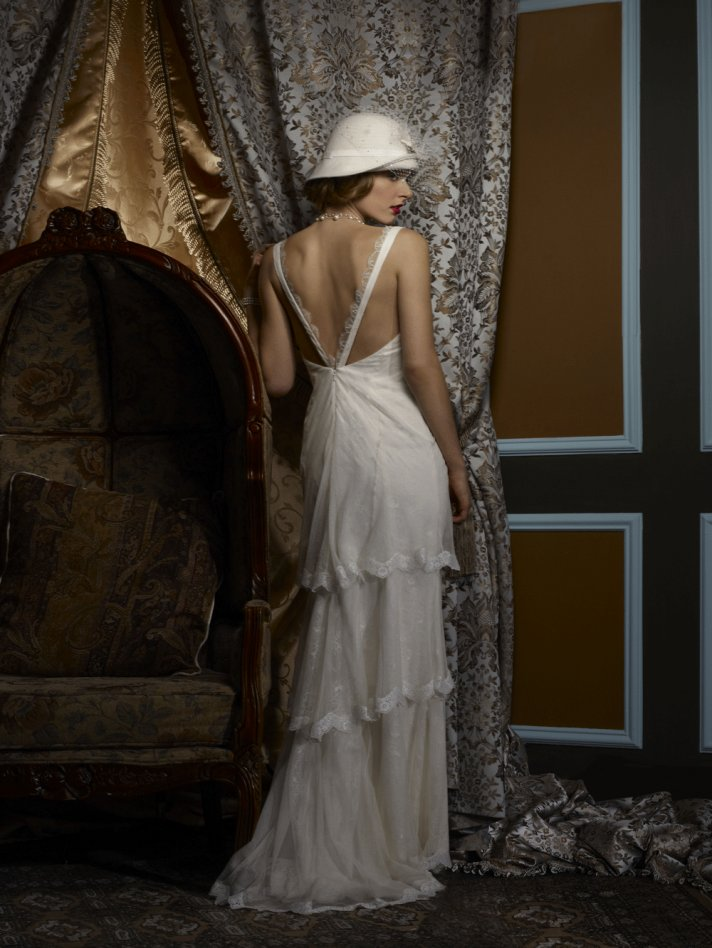 Wedding dress by Birnbaum and Bullock 2013 Bridal Brianna