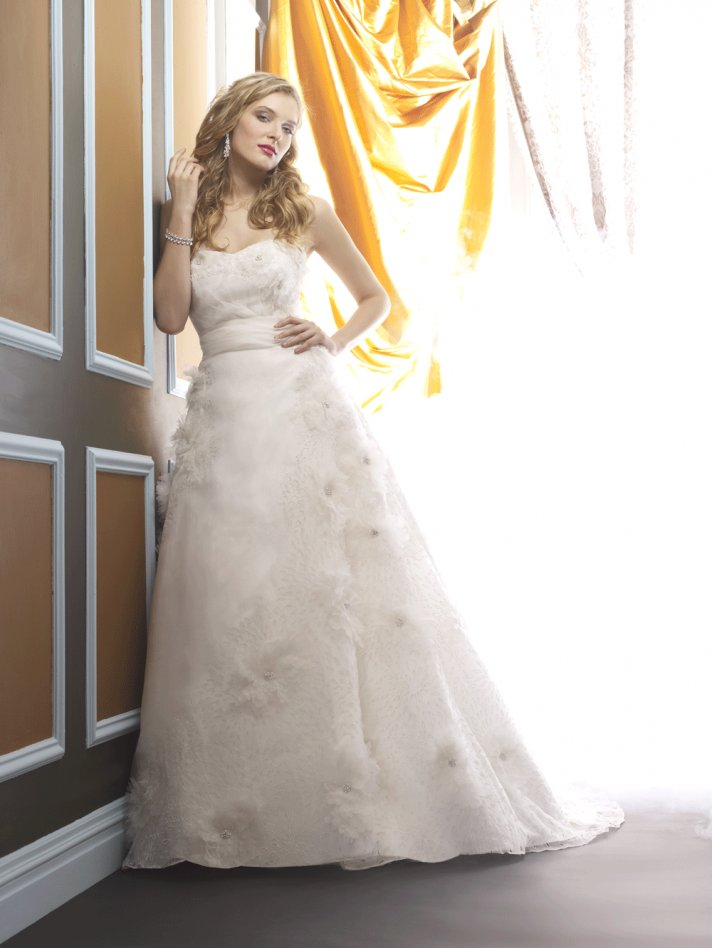 Wedding dress by Birnbaum and Bullock 2013 Bridal Tatiana