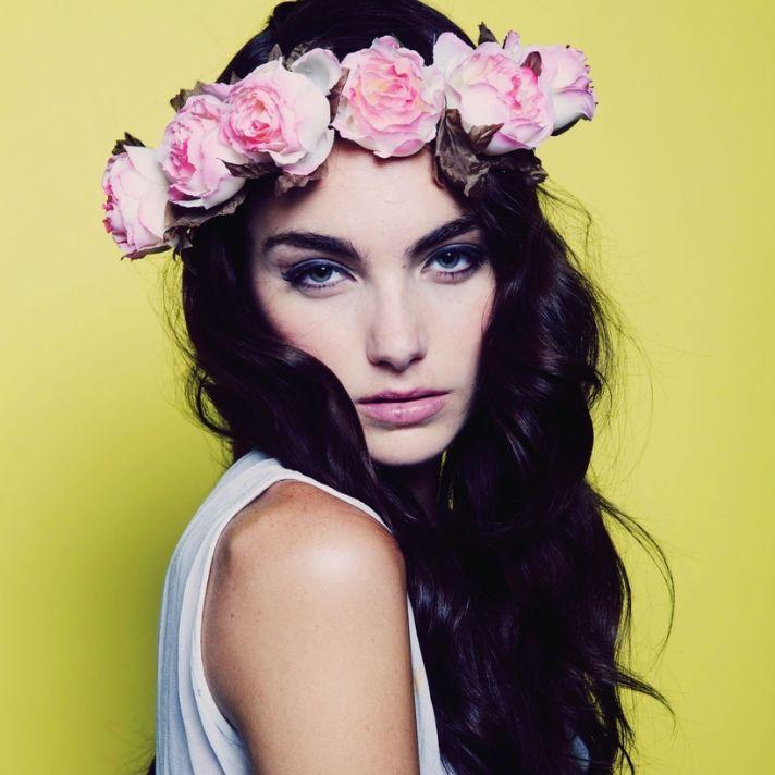 romantic floral wedding crowns cult gaia bourbon
