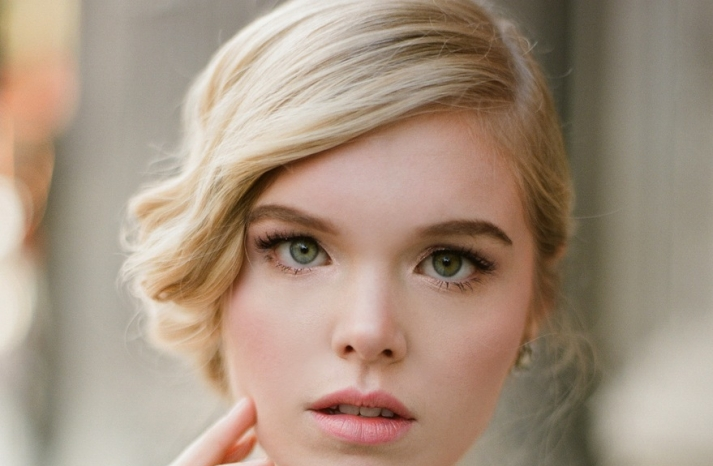 Wedding hair and makeup inspiration from Ruche 7