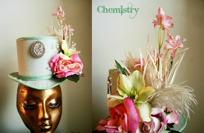 Funky easter wedding hat photo booth prop
