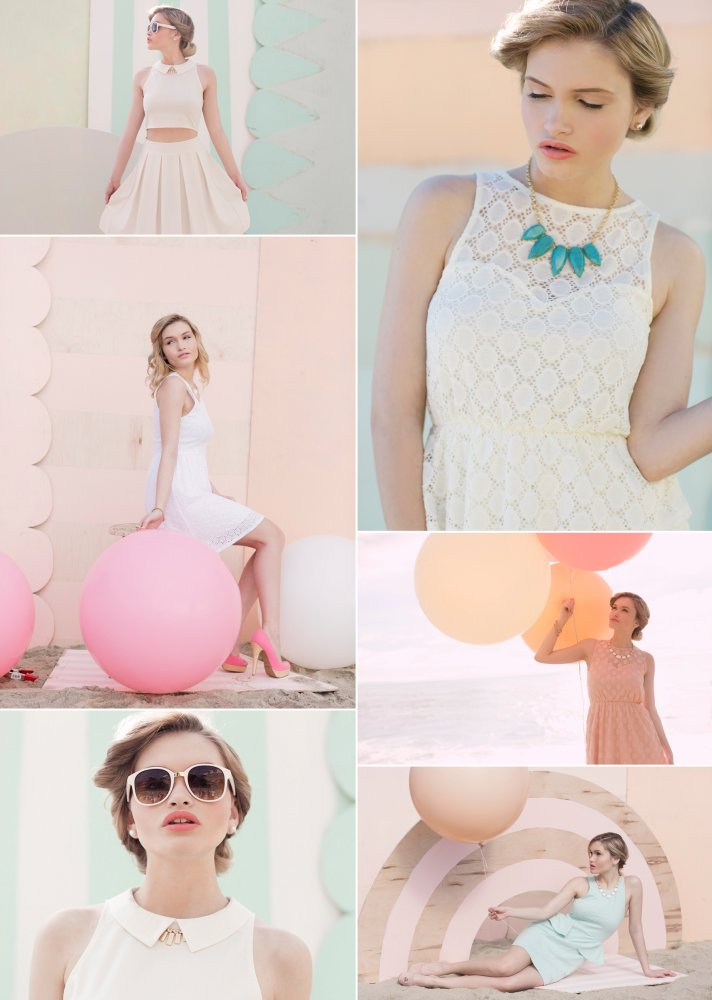 Retro Spring Wedding Theme Dreamy Pastels 2
