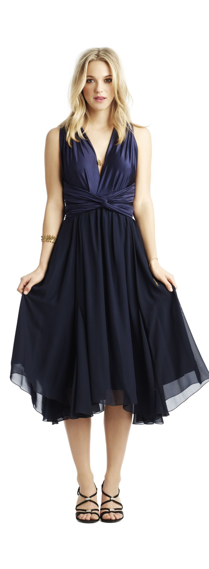 Navy Blue Junior Bridesmaid Dresses