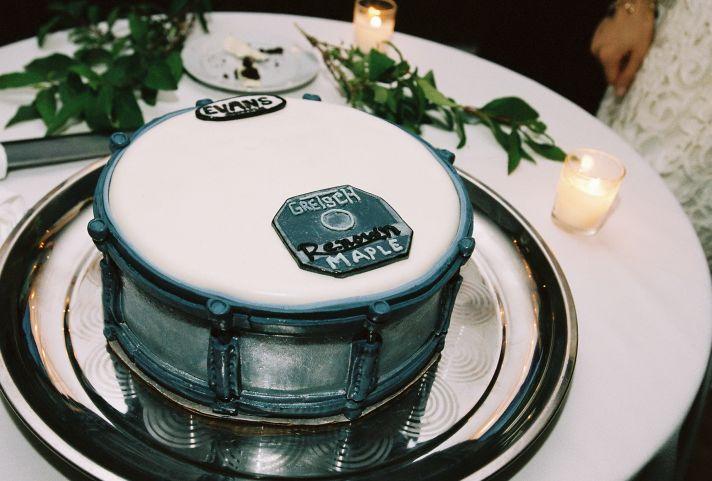 Grooms Cake at wedding reception