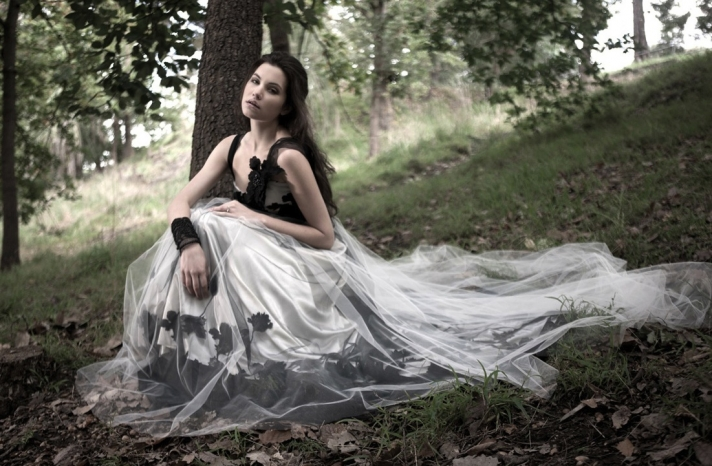 Mariana Hardwick Wedding Dress 2013 Bridal Primrose Noir