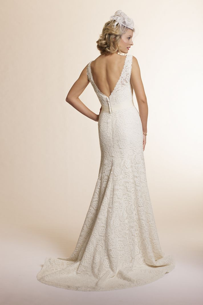2013 wedding dress by Amy Kuschel Bridal Sage
