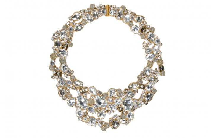 Statement wedding necklace by Jenny Packham