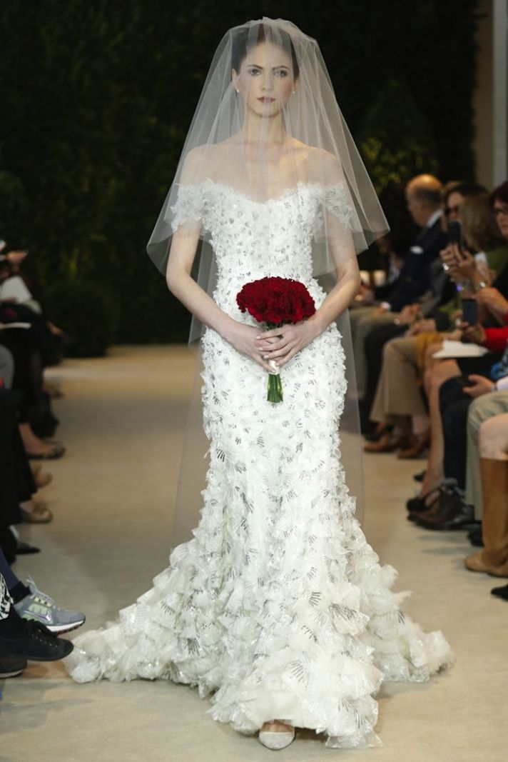 Carolina Herrera Wedding Dress Spring 2014 Bridal 24