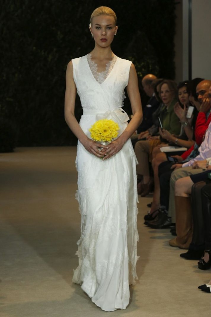 Carolina Herrera Wedding Dress Spring 2014 Bridal 14