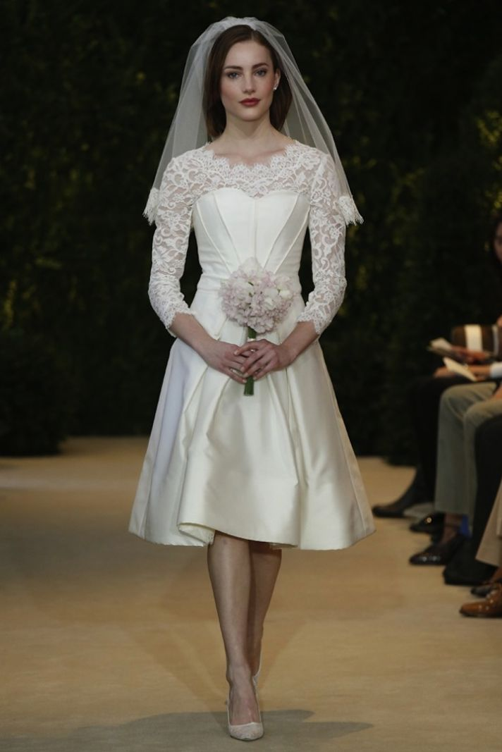 Carolina Herrera Wedding Dress Spring 2014 Bridal 6