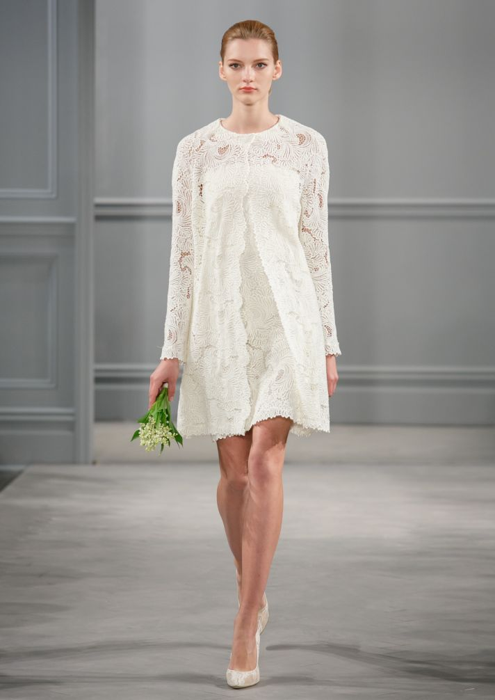 Spring 2014 Wedding Dress Monique Lhuillier Bridal Andie