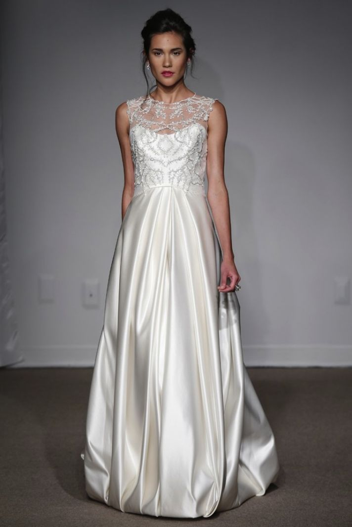 traditional with a twist spring 2014 anna maier wedding gowns