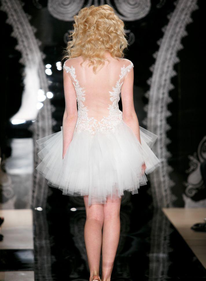 Reem Acra Wedding Dress Spring 2014 Bridal Daria Indira
