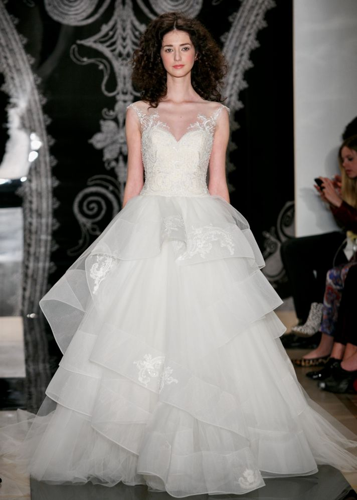 Spring 2014 Bridal: Smoldering Sensuality from Reem Acra