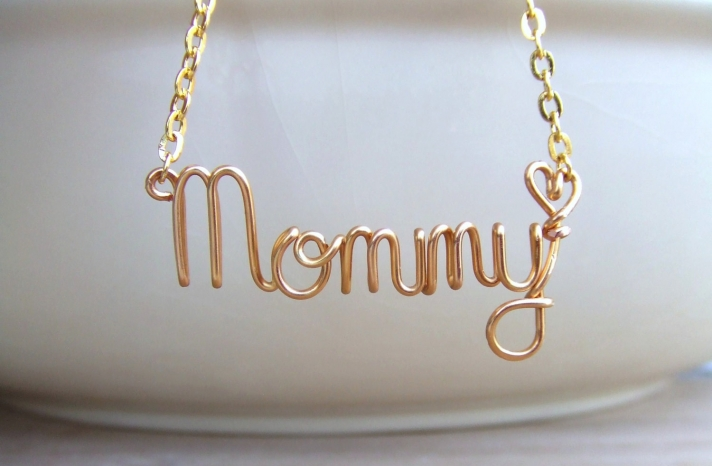 Mommy necklace for MOBs