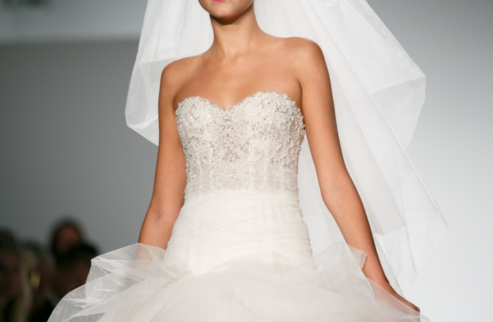 Kenneth Pool Wedding Dress Spring 2014 Bridal Glam
